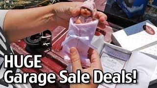 Huge Garage Sale Deals!