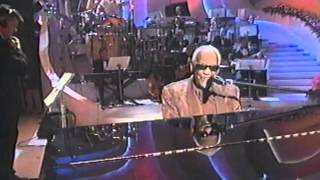 Ray Charles in Good love gone bad (Gli amori). Live. 50 anni di Sanremo