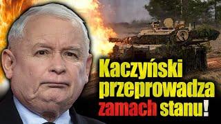 Kaczyński przeprowadza zamach stanu? Jan Piński
