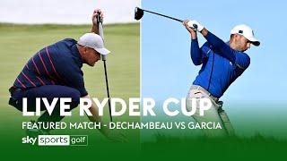 Ryder Cup | Bryson DeChambeau vs Sergio Garcia | Day 3
