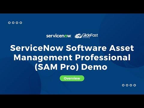 ServiceNow Software Asset Management Professional (SAM Pro ...