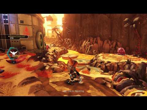 Видео № 1 из игры Ratchet & Clank (Б/У) [PS4]
