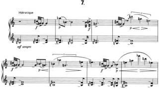 Pierre Boulez - 12 Notations pour Piano (1945) + Score