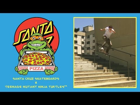 Santa Cruz Skateboards x TMNT