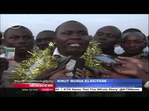 KNUT Busia elections conclude