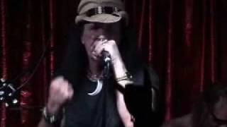 "DAVE EVANS - AC/DC ORIGINAL SINGER - "" CAN I SIT NEXT TO YOU GIRL""  AT THE CHERRY BAR IN AC/DC LANE"