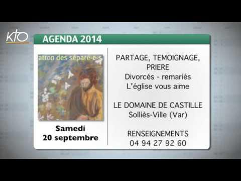 Agenda du 12 septembre 2014