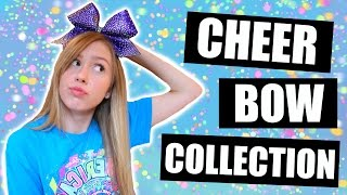 CHEER BOW COLLECTION // All My Cheer Bows :)