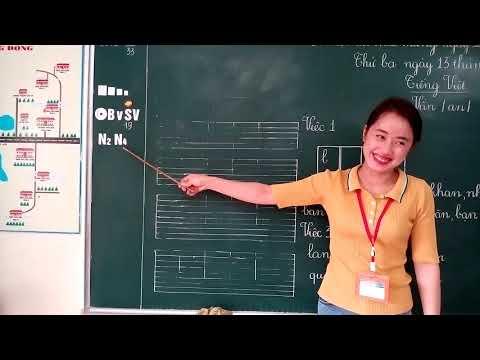 Giờ học Tiếng Việt CGD lớp 1