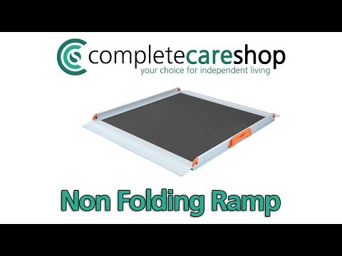 How To Use The Non-Folding Wheelchair Ramp