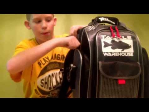 Tackle Warehouse Angler Backpack Review
