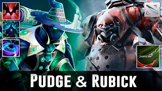 Dota 2 Pudge & Rubick Moments