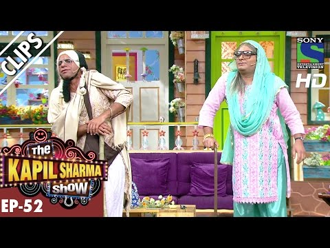 Quarrel between Rajesh's mother and Mashoor's mother -The Kapil Sharma Show-Ep.52-16th Oct 2016