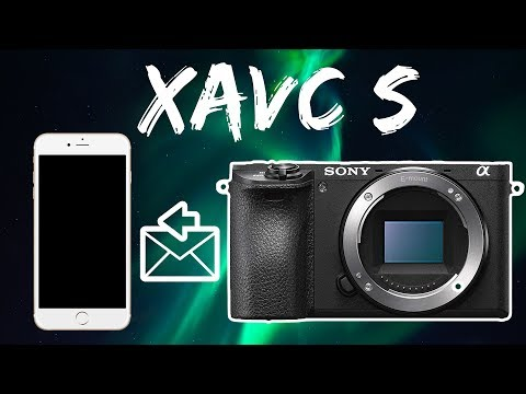 How to import XAVC S (Sony a6300 a6500 4K) video files to an