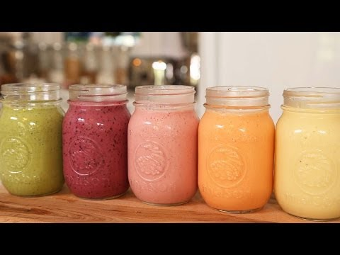 Video 5 Healthy Breakfast Smoothies!