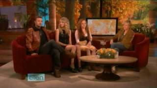 Taylor Swift Fearless Release Interview on Ellen 11/11/08 Part 2