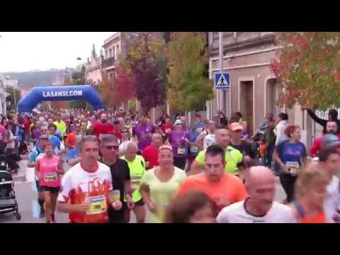 Vídeo de salida de la carrera