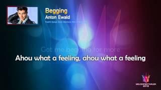 """Anton Ewald - """"Begging"""" (Unofficial Karaoke version)"""