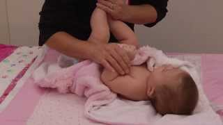 A Holistic Health Specialist's Tips on Giving a Newborn Massage