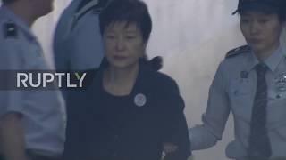 South Korea: Park Geun-hye and Choi Soon-sil arrive at court