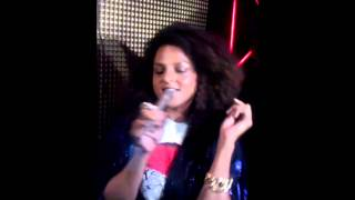 Marsha Ambrosius sings Happy Bday in Philly