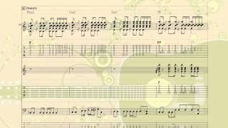 I wanna be... / YUI ギターコード[Power Tab]
