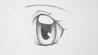 How to Draw Manga Girl Eyes 3 Ways