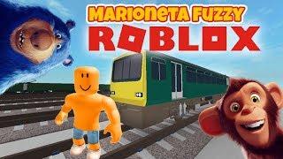 Fuzzy Vamos A Jugar A Los Trenes De Escape De Roblox! 🚂