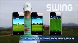 SwingTIP Wireless Golf Swing Analyzer Mobile App voor iPhone en Android