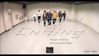 [Choreography Video]SEVENTEEN   Happy Ending