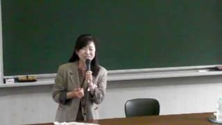 22会 還暦同窓会 副会長:講師紹介 特別授業:森田昌子先生