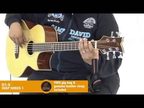 Ortega Guitars | D1-5 - Deep Series 1 (Acoustic Bass Guitar)