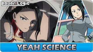 Momo Yaoyorozu  - (My Hero Academia) - The Super Genius Behind Momo's Creation    My Hero Academia Momo Yaoyorozu's Quirk Explained