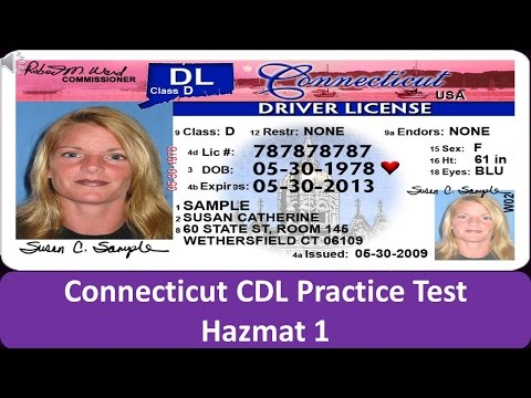 graphic about Cdl Hazmat Practice Test Printable referred to as Connecticut CDL Hazmat Educate Take a look at