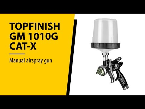 WAGNER TopFinish GM 1010G CAT X video