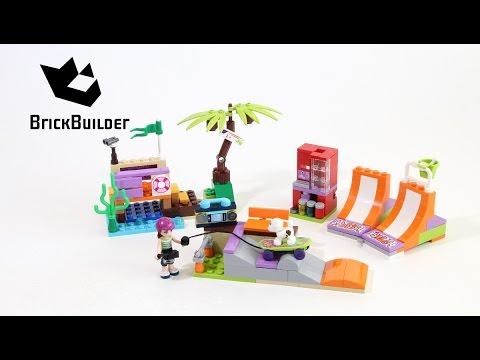 Vidéo LEGO Friends 41099 : Le skatepark