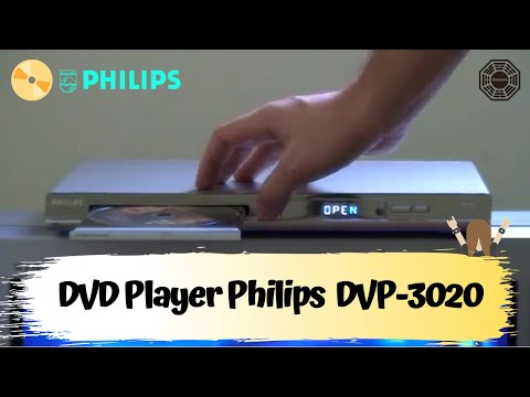 DVD Player Philips DVP-3020