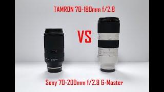 Краткий обзор нового Tamron 70-180mm для Sony E. И сравнение с Sony 70-200mm f/2.8 G. Кто круче?