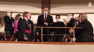 SS.MM. los Reyes en el Concierto de la Fundación Victimas del Terrorismo