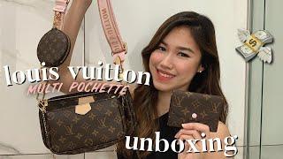 💸 LOUIS VUITTON DOUBLE UNBOXING | Multi Pochette | Come Shop With Me