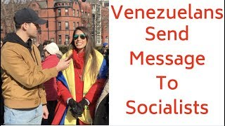 Victims of Socialism in Venezuela Warn U.S.: 'Don't Fall for It,' 'People are Eating from Trash Bags