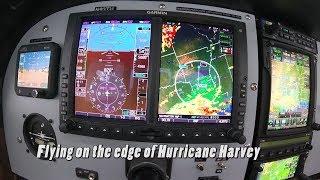 Cessna 182 Katmai | Flying On The Edge Of Hurricane Harvey