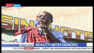Miss Tourism receives heroine welcome in West Pokot