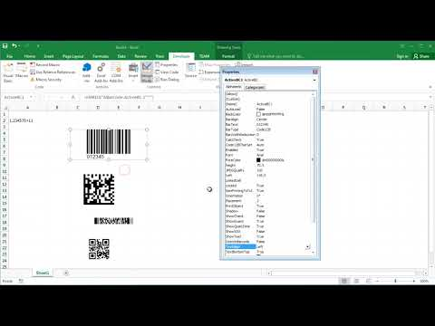 Download How To Create Barcode In Excel 2016 | Dangdut Mania