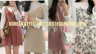 KOREAN STYLE | CUTE DRESS FASHION | LOOK BOOK 2019