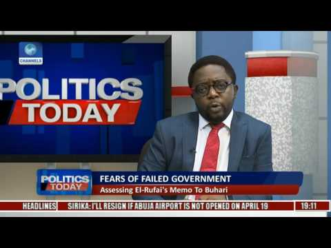 Politics Today: President's Aides Allegedly Stifling Good Governance, How True? Pt 2
