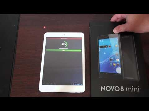 ainol novo 8 mini Tablet PC antutu review  Novo8 Mini!