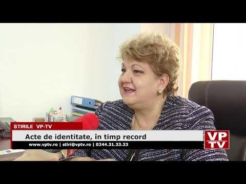 Acte de identitate, în timp record