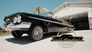Xavier the X-Man & His 1961 Chevrolet Impala - Lowrider Roll Models Ep. 8