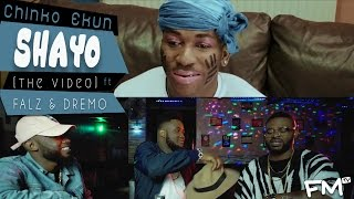Chinko Ekun | Shayo [Freeme TV - Exclusive Video] ft Dremo, Falz
